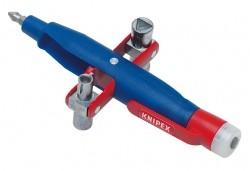 Kolíkový klíč 001117 Knipex na rozvodné skříně se zkoušecím zařízením