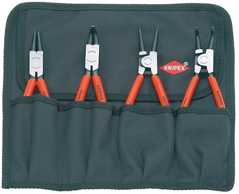 Knipex 001956 - sada kleští na pojistné kroužky 19-60 mm (4411J2, 4611A2, 4421J21, 4621A21)