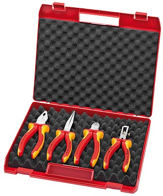 Sada nářadí 002015 Knipex (4-dílná sada izolovaného nářadí) - tip na dárek