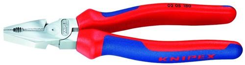 Kombinované kleště silové 0205180 Knipex, kombinačky 180 mm