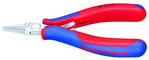 Kleště montážní Knipex 3512115 (ploché široké čelisti)