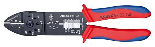 Univerzální lisovací kleště 9722240 na konektory neizolované, kabelová oka
