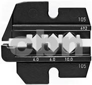 Lisovací profil 9749692 pro solární konektory AC-Solar PST 40 (Wieland 4,0-10,0 mm2, 3 hnízda)