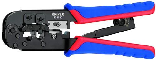 Knipex 975110 Lisovací kleště na konektory WESTERN RJ11/12 + RJ45