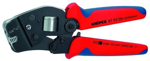 Knipex 975308 lisovací kleště na dutinky (rozsah 0,08-10,0 mm²) dopravíme zdarma