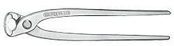 Knipex 9904280 armovací kleště poniklované - skladem 1 ks