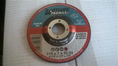 Kotouč brusný na hliník 115x7x22,2 mm, Rottluff A36ALU-BF - balení 10 ks