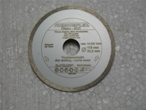 Diamantový kotouč na obklady 150x22 mm (uzavřený segment) FLIESE-ECO HOBBY