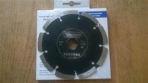 Diamantový kotouč 150x22 mm na beton (segmentový) - typ LD3 S10