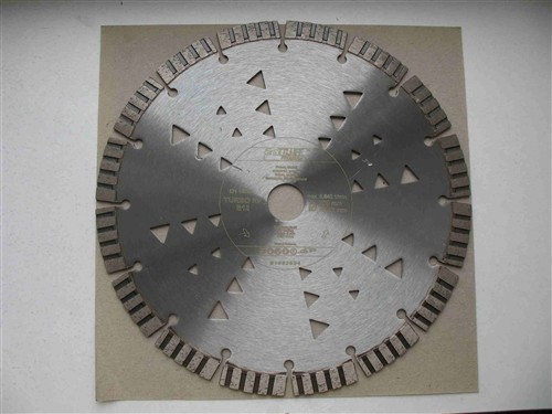 Diamantový kotouč 230x22 mm na žulu, armovaný beton PROFI (segmentový) TURBO HP S12