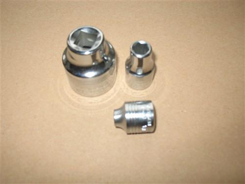 """Hlavice nástrčná 1/2"""" 8mm - 6hran, TONA (oříšek 8 mm) - skladem 2 ks"""