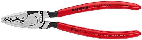 Lisovací kleště na dutinky 9771180 Knipex (rozsah 0,25-16 mm2)