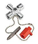 001102 Knipex Klíč na rozvodné skříně (krátké provedení)