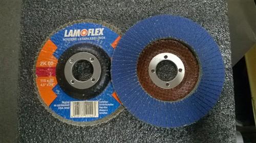 Lamelový kotouč INOX 115 mm ZK 60 Rottluff (rovný) - poslední 3 ks SKLADEM