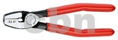 Lisovací kleště na dutinky 9781180 Knipex, čelní zavádění (rozsah 0,5-6 mm2)