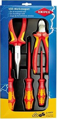 Knipex 002013 sada nářadí VDE se 3 šroubováky WERA