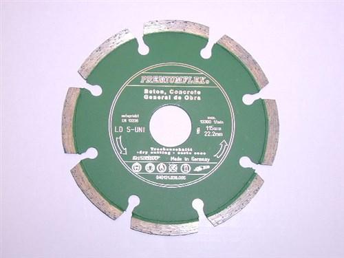 Diamantový kotouč 180x22 mm na beton (segmentový) - LD5-UNI - 4 ks skladem
