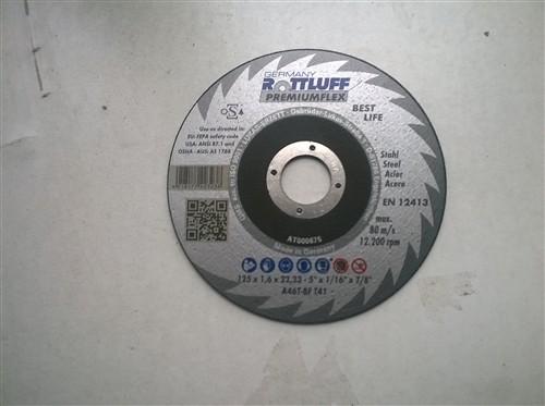 Kotouč řezný na ocel 125x1,6x22,2 mm - A46T-BF Rottluff Premiumflex