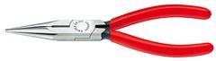 Půlkulaté kleště 2501160 s ostřím (rovné provedení) Knipex
