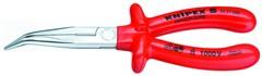 Půlkulaté kleště s břity 2627200 ( zahnuté v úhlu 40 st.)  Knipex, 1000V