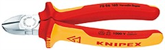 Knipex 7006160 boční štípací kleště (břit s fazetou), 1000V