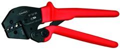 Lisovací kleště pákové Knipex 975206  na kab. oka a konektory (rozsah 0,5-6,0 mm2)
