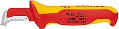 Odizolovací elektrikářský nůž Knipex 9855, 1000V