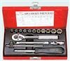 """Sada nástrčných klíčů 1/4"""" (16ks) 2616M Hans Tools"""