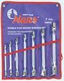 Klíče nástrčné kloubové-oboustranné 8-22mm (7ks) 16407M -Hans Tools